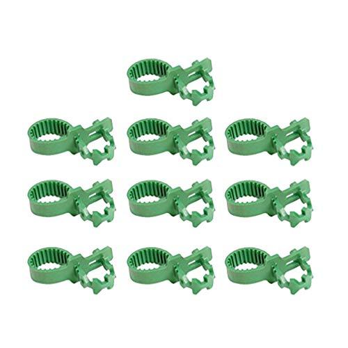 Yardwe 20 Stuks 9. 8 Inch Boombandjes Bandjes Steunen Zware Verstelbare Interlock Tuinplanten Struikbandjes Voor Struikroos Plantboomsteunen