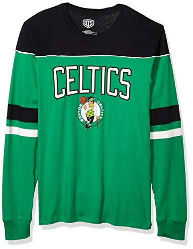 OTS NBA Boston Celtics Men's Division Long Sleeve Tee, Division, Large
