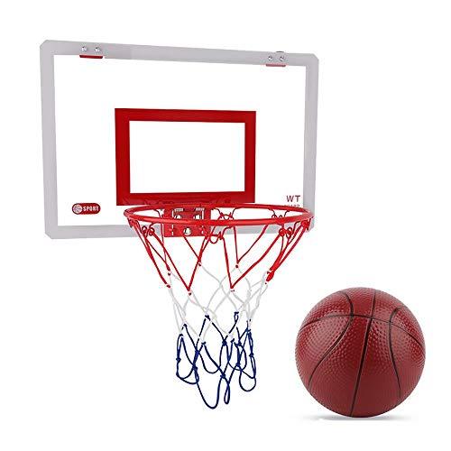 Daiwen Mini Canasta Baloncesto Habitacion Canasta Baloncesto Infantil Exterior Interior con Accesorios Completos para Niños Adultos Exterior Interior Oficina