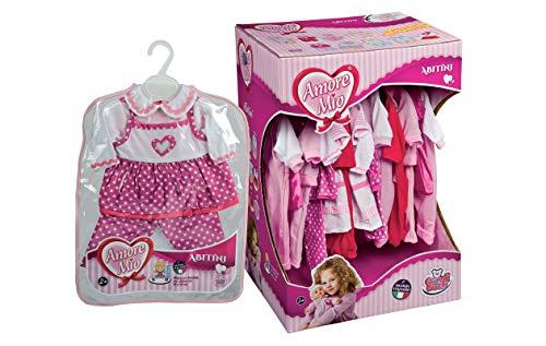Grandi Giochi Amore Mio Abito per Bambole, 42/48 cm, Colori assortiti, 1 pezzo, (1 abitino)