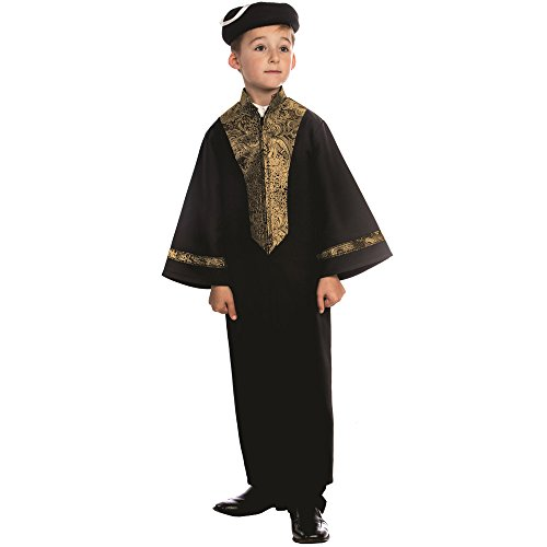 Dress Up America Sephardic Chacham Rabbi Costume for Kids