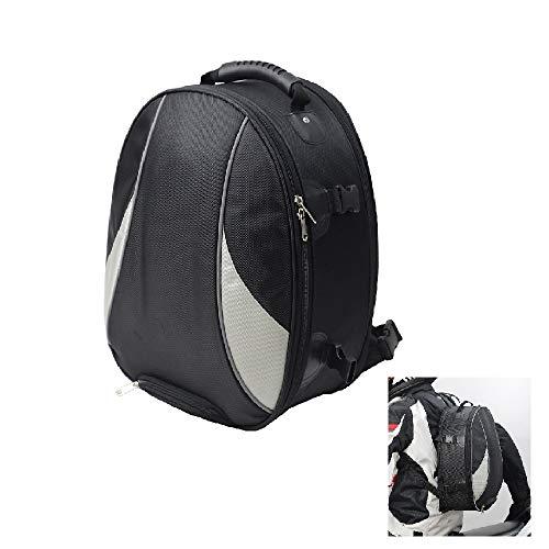 KKmoon Motorradtasche mit großer Kapazität, Tasche für Motorradhelm, Rücksitz für Motorradhelm, wasserdicht, verschleißfest