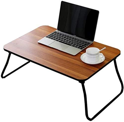 Comfortabele multifunctionele studiafel, kleine houten tafel, bow, klaptafel, licht en gemakkelijk te verplaatsen, inklapbare opslag rond.