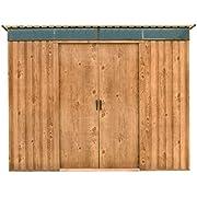 Duramax 503458x 6Ft Pultdach Skylight Schuppen–Holzmaserung