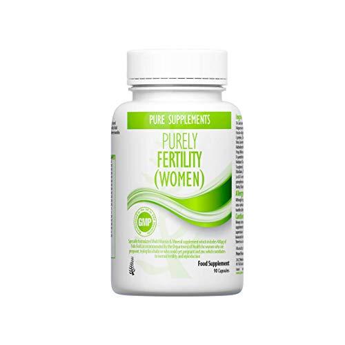 Womens Fertility Vitamins | Conception Prenatal Supplement with Zinc, L-Arginine, Selenium, Inositol, Folic Acid(Folate 5-MTHF), etc