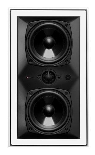 Boston Acoustics HSi 455W2 Blanco Altavoz - Altavoces (De 2 vías, 1.0 Canales, Alámbrico, 65-20000 Hz, 8 Ω, Blanco)