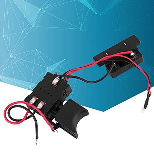 Interruptor de taladro eléctrico 16A 24V Interruptor de taladro Interruptor de disparador de taladro de rendimiento superior para piezas de herramientas eléctricas domésticas industriales