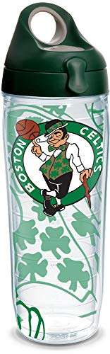 Tervis Made in USA Double Walled NBA Boston Celtics Insulated Tumbler Cup Keeps Drinks Cold & Hot, 24oz Water Bottle, Genuine