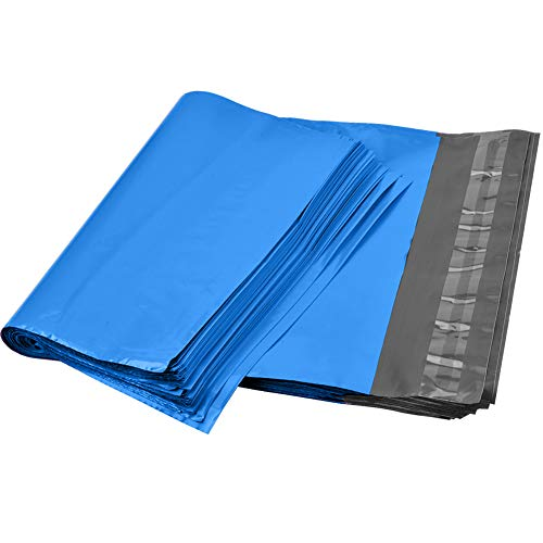 9527 Product 10x13 Blue Poly Mailers Envelopes Shipping Bags Self Sealing, Mailing Bags, 100 Bags