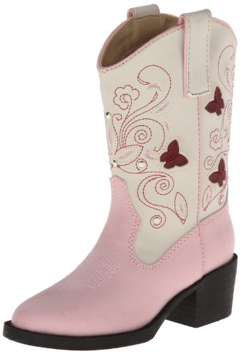 Pink Child Western Boots