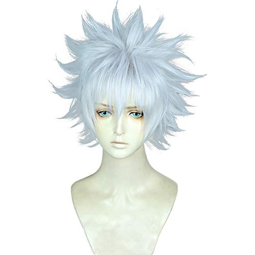 magic acgn Short Color Mixing Cosplay Wig Game Hair Party Halloween Wig