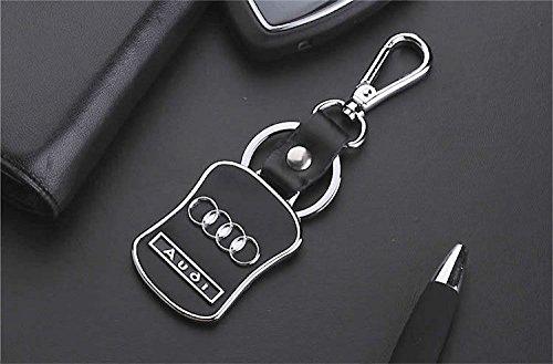 Audi llavero Supreme Modelo Propietario Caja de Regalo para Audi conductor (Marca Logo Piel).
