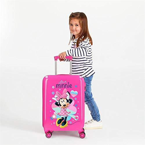 Disney (DIYL9) Love Minnie Infantil, Rosa