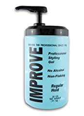 Professional styling gel No alcohol Non-flaking
