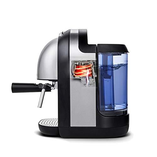 Italiaanse koffiemachine met capsules, klein Home Office Volautomatisch, onopgelost -1100 watt 850 ml Volautomatische capsule koffiemachine