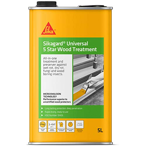 Sikagard Universal 5 Star Wood Treatment - All In One...
