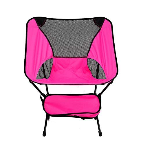 Chaise Camping Portable Compact ultra-léger, chaises de randonnée pliantes dans un sac de transport, randonneur de capacité 300 lb, Camp, Plage, Pêche, Sports de plein air, Événement, Festival