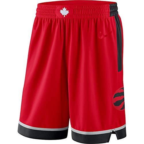 MZAW Toronto Red Swingman Raptors Basketball-Shorts, Sporthose, schnelltrocknend und schweißabsorbierend, Rot