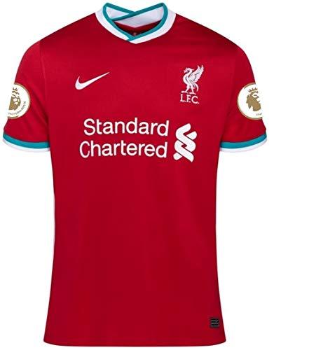 ナイキ(NIKE) リヴァプールFC ホームユニフォーム 2020/21 [プレミアリーグバッジ] [5 ワイナルドゥム] [サイズ:インポートXXL] Liverpool FC Home Shirt 2020/21 [Premier League Badge] [5 WIJNALDUM] [Size:Import XXL] [並行輸入品]