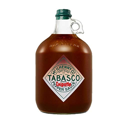 TABASCO Chipotle Pepper Sauce, 1x Gallone 3,78 l, Chipotle Chili Sauce, 100% natürlich, Glasflasche