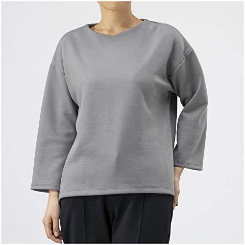 [Mizuno] アウトドアトラベルウェア ブレスサーモ ウールポンチ 9分袖Vネックシャツ Go to by mizuno B2JA9810 レディース ブラック 日本 L (日本サイズL相当)