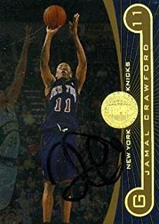 Autograph 119278 New York Knicks 2006 Topps First Row No. 18 Jamal Crawford Autographed Basketball Card