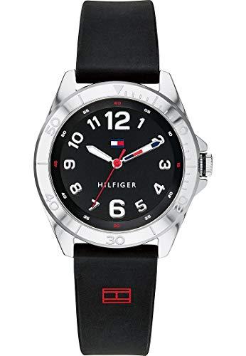 Tommy Hilfiger Reloj analógico de cuarzo para niños, silicona, 32005950