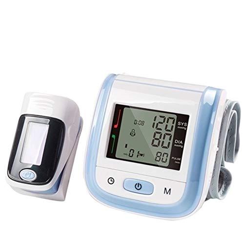 Digital Pulsoximeter bloed zuurstof Monitor polsbloeddrukmeter bloeddrukmeter Verzadiging Meter SpO2 PR (Color : New Model Blue)
