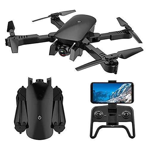 JAJU Drone con visuale in Prima Persona con Fotocamera 4K, Drone Pieghevole, Trasmissione in Tempo Reale FPV WiFi, Selfie con gesti, Mantenimento dell'altitudine, Volo di 15 Minuti, per Tutti