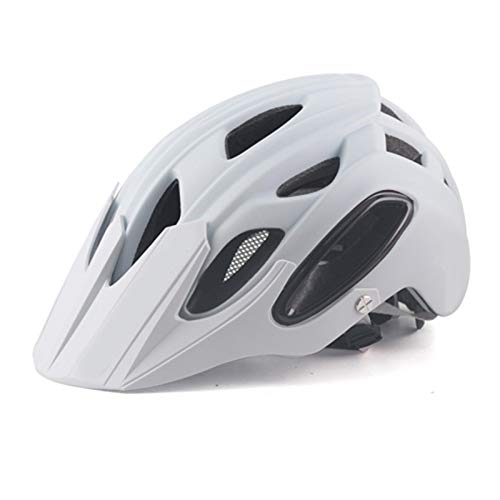 Helm Yuan Ou Fahrradhelm MTB Helm Mountainbike Herren Fahrradhelm MTB Ultralight Road Enduro Helm In-Mold Fahrradkreuz BMX Radhelm weiß