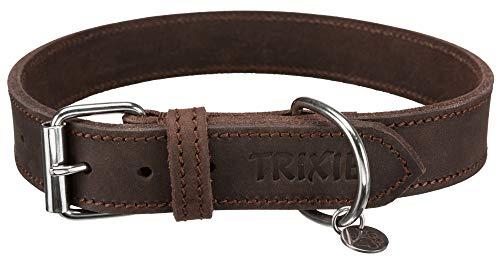 TRIXIE 19008 Rustic Fettleder Halsband, 130.95 g
