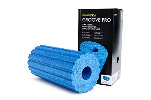 Blackroll Groove Pro - Rolle zur Körperentspannung, Massage Rolle, verschiedene Farben (azur)