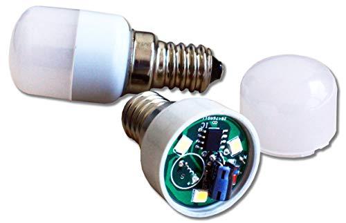 Ecosavers Kühlschrank LED Alarm Licht E14 nach 10 Sekunden blinkend und nach 20 Sekunden Buzzer