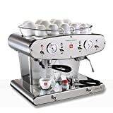 illy FrancisFrancis! X2.1 Twin Group iperespresso Professional, Espresso Kapselmaschine (Generalüberholt)