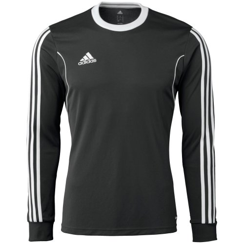 adidas Performance Men's Squadra 13 Long Sleeve Jersey, Black, Small