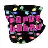 XCNGG Buzzcocks Logo Pañuelo para la Cara Protección para el Cuello Pasamontañas Variedad Pañuelo para la Cabeza