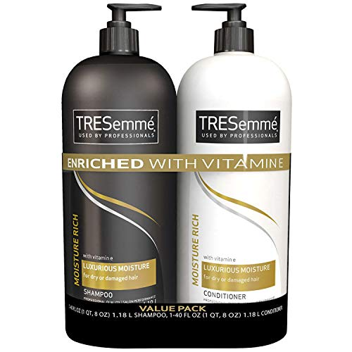 Tresemme moisture rich Shampoo & Conditioner (40 fl. oz., 2 pk.)