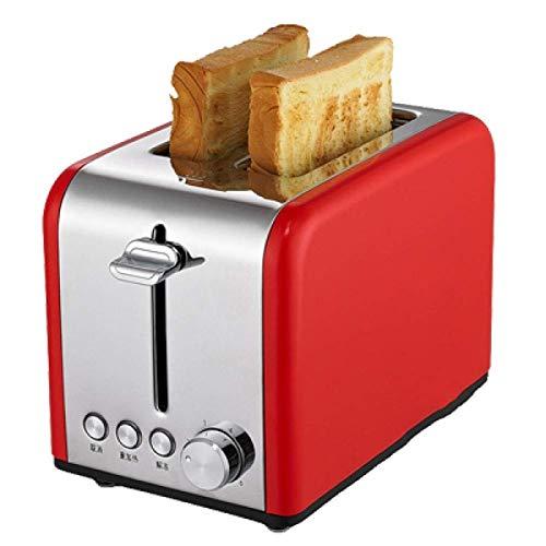 Z-Color Inicio Multifunción Acero Inoxidable Tostadora automática, Utensilios para Hornear, 6 Modos de Control de Browning Máquina de Desayuno Herramientas de Cocina, 850W