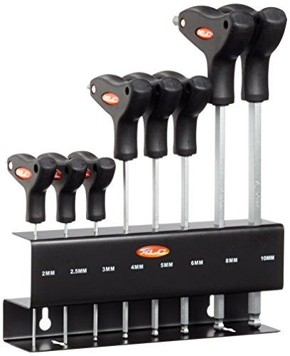 XLC Unisex– Erwachsene T-Form Innensechskant-Schlüssel, Schwarz, One Size