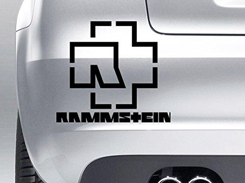 Rammstein – Vinilo – Coches, Windows, paredes, portátiles, guitarras – Adhesivo # 4: Amazon.es: Coche y moto