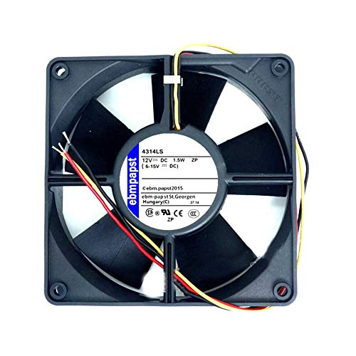 N+A Durable Double Ball Cooling Fan for EBMPAPST TYP-4312LS 12032 12V 1.5W 3-Wire