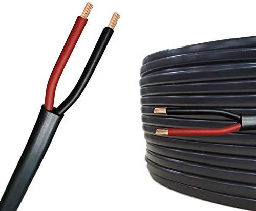 AUPROTEC 5m Flachkabel 2 adriges Elektrokabel Anhängerkabel 2 x 1,5 mm²