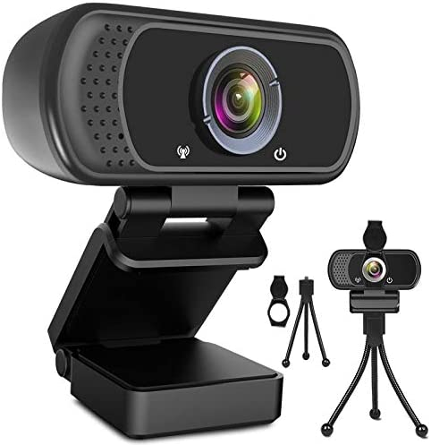 Webcam HD 1080p Web Camera USB PC Computer Webcam with Microphone Laptop Desktop Full HD Camera product image