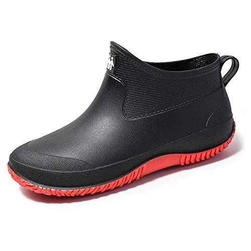 [Leetaker] レディース レインシューズショート レインシューズ メンズ 超軽量 オシャレ レインブーツ 雨靴 防水 ビジネス 釣り 花見 梅雨対策 台風 通勤 通学 作業