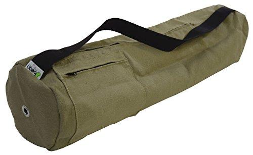 Cactus Hemp Mat Bag - 8' Round x 32' Long - Easy Open Zipper - Extra Large - (fits Manduka + Jade) - Made in USA