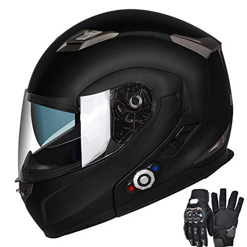 Why Choose FreedConn Motorcycle Bluetooth Helmet, BM2-S Flip Up Modular Bluetooth Motorcycle Helmet ...