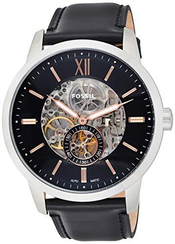 Fossil ME3153 Men's Townsman Semi-Skeleton Dial Automatic Watch