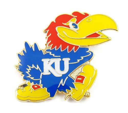 NCAA Kansas Jayhawks Team Logo Pin