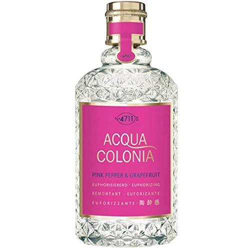 4711 Acqua Colonia Poivre rose et pamplemousse Eau de Cologne en flacon Vaporisateur pour unisexe 50 ml