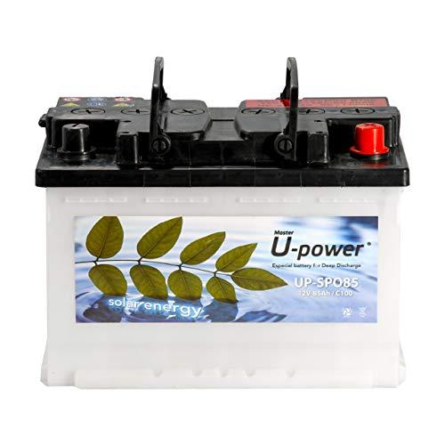 Master U-Power Bateria Solar, Monoblock SPO 85AH 12V